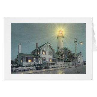 "Insel-Leuchtturm-"" Karte Pauls McGehee ""Fenwick"
