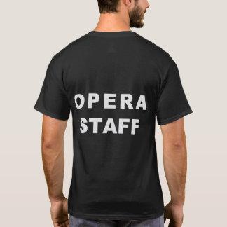 Insel-Stadt-Opern-Personalt-shirt T-Shirt