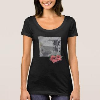 Insel-Strand-Brandung-T-Stück-für-Frauen T-Shirt
