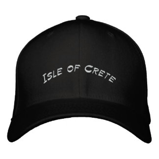 Insel von Kreta Bestickte Baseballkappe
