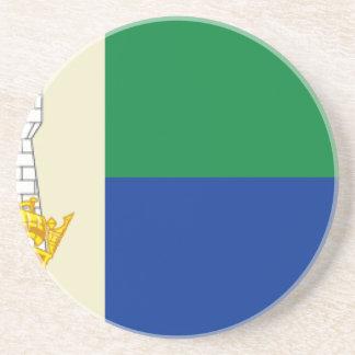 Insel von Portland-Flagge Untersetzer