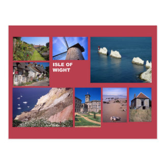 Insel von Wight Multibild Postkarte