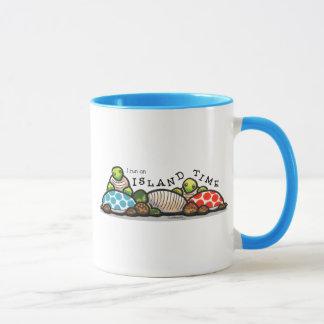 Insel-Zeit-Schildkröten Tasse