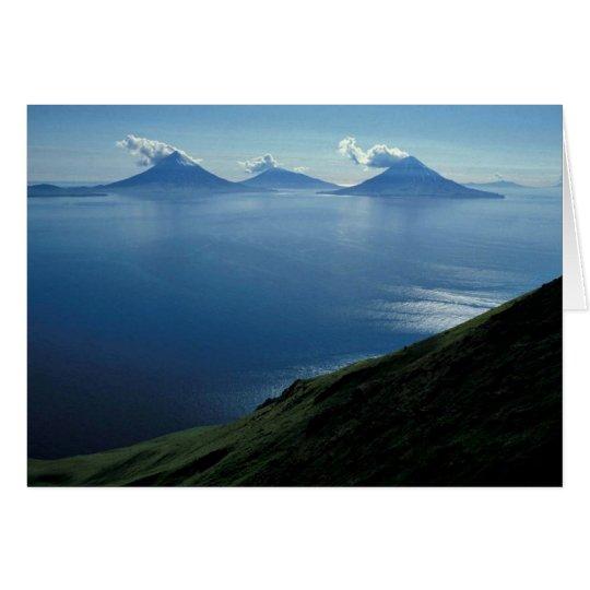 Inseln von vier Bergen Karte
