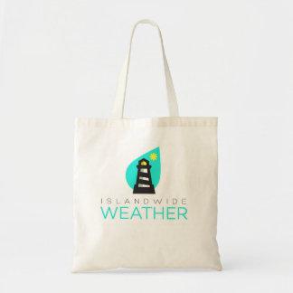 Inselweite Wetter-Einkaufstüte Tragetasche