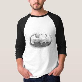 Insignien des Batman-Symbol-|, die Logo zeichnen T-Shirt
