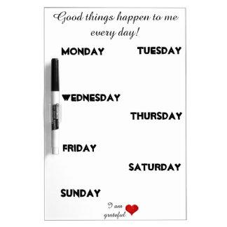 Inspirational motivierend whiteboard
