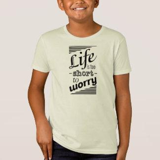 Inspirational motivierend Zitat Bio T - Shirt
