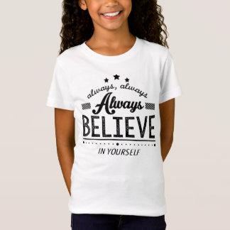 Inspirational motivierend Zitat Jersey-T - Shirt