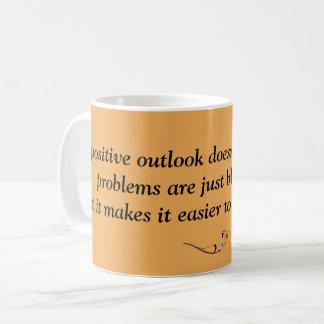 Inspirational Tasse - steigen Sie oben