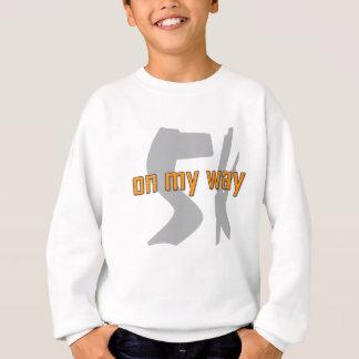 Inspirational u. motivierend Gang für Läufer Sweatshirt