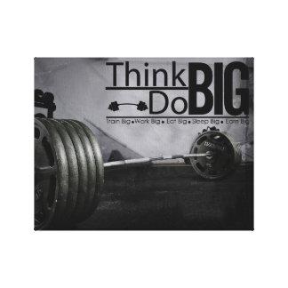 Inspirations-Motivation zitiert Trainings-Plakat Leinwanddruck