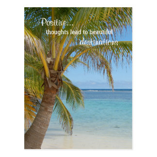 Inspirieren des positive Haltungs-Gedanken-Zitats Postkarten
