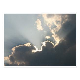 Inspirieren des Sonnenlichts Postkarte