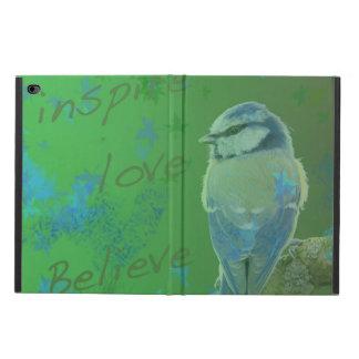 Inspirieren Sie Liebe glauben Vogel Ipad Fall