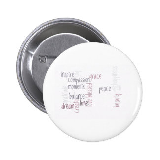 Inspirieren Sie Mitleid Runder Button 5,1 Cm
