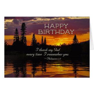 Inspirierend Geburtstagphilippians-1:2 - Karte