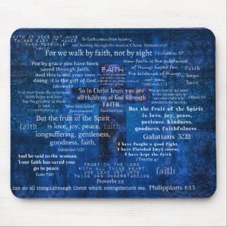 Inspirierend Glauben-Bibel-Verse Mauspad
