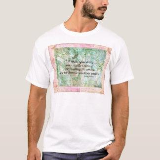 Inspirierend Naturzitat durch Emily Bronte T-Shirt