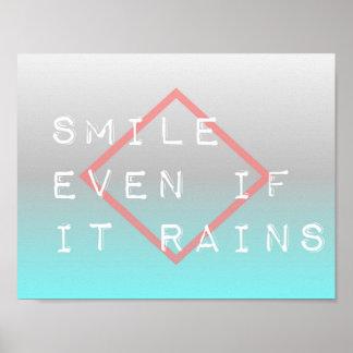 Inspirierend Zitat-grafischer Typografie-Text Poster