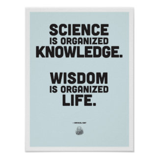 Inspirierend Zitat Immanuel Kants Poster