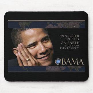 Inspirierend Zitat Obama Mauspad