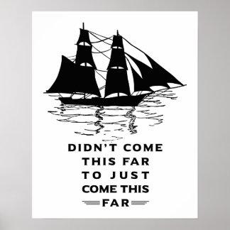 Inspirierend Zitat Poster