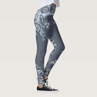 Inspirit Blau Leggings
