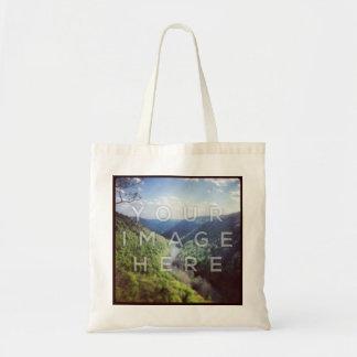Instagram Foto-Taschen-Tasche Budget Stoffbeutel