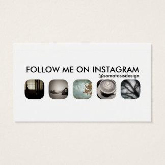 instagram Nachfolger Visitenkarte