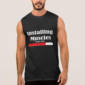 INSTALLING MUSCLES ÄRMELLOSES SHIRT