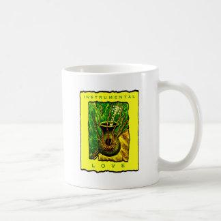 Instrumenteller Liebe-Entwurf #1 Kaffeetasse