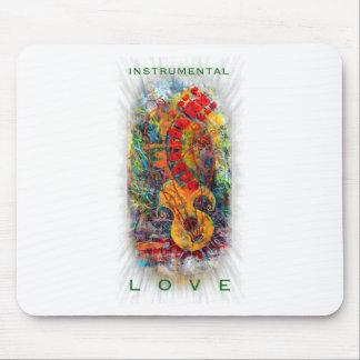 Instrumenteller Liebe-Entwurf #8 Mousepad