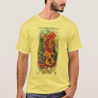 Instrumenteller Liebe-Shirt-Entwurf #8 T-Shirt