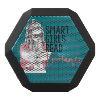 Intelligente Mädchen lasen Romance BoomBot Rex Schwarze Bluetooth Lautsprecher