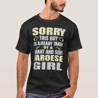 INTELLIGENTE UND SEXY FAROESE MÄDCHEN-T-SHIRTS T-Shirt