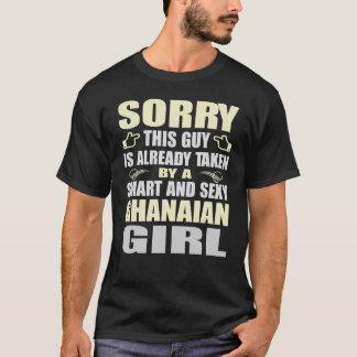 INTELLIGENTE UND SEXY GHANAISCHE MÄDCHEN-T-SHIRTS T-Shirt