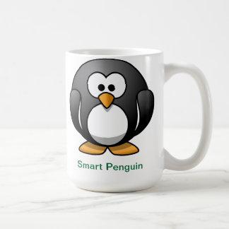 Intelligenter Pinguin Kaffeetasse
