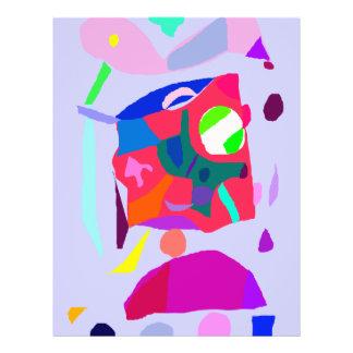Intelligenz-Musik-Ton-Ton-Primitives Flyerdesign