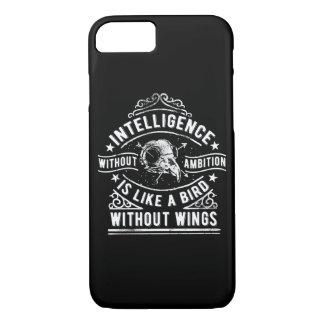 Intelligenz ohne Ehrgeiz-glatten Telefon-Kasten iPhone 8/7 Hülle