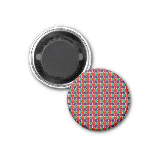 INTENSIVE Farbe kopiert Glitzern-Werbegeschenk Runder Magnet 3,2 Cm