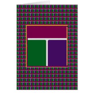 INTENSIVE Farbe: Party-Werbegeschenk-Rückkehr Karte