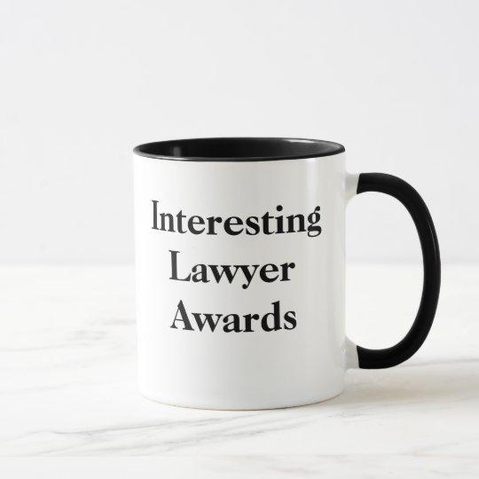 Interessante Rechtsanwalt-Preise - kundengerecht Tasse