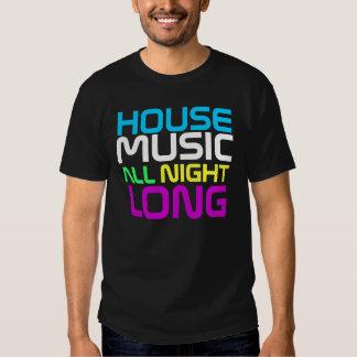 Interknit Couturen - Haus-Musik die ganze Nacht Tshirts