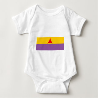 internationale Flagge Baby Strampler