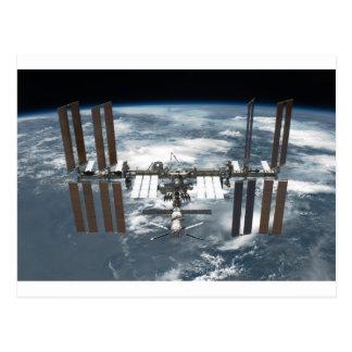 Internationale Weltraumstation ISS, Bemühung 2011 Postkarte