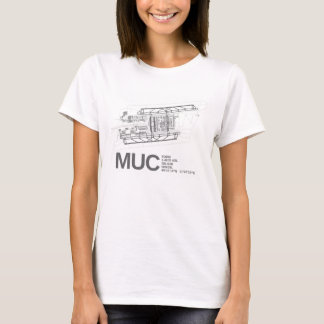 Internationaler Flughafen Münchens Franz Josef T-Shirt