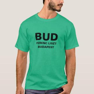 Internationaler Flughafen-Shirt Budapests T-Shirt