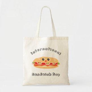 Internationaler Sandwich-Tag Tragetasche