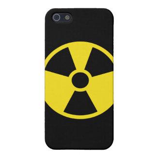 Internationales nukleares Zeichen iPhone 5 Schutzhüllen